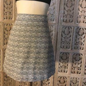 Express Tweed A-Line Skirt 00